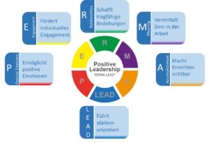 5 Faktoren des PERMA-Lead Modells für positive Leadership